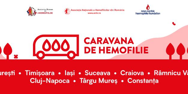 Caravana de Hemofilie a ajuns la Cluj-Napoca