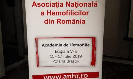 """A V-a ediție a """"Academiei de Hemofilie"""", organizată în perioada 11-17 iulie 2019"""
