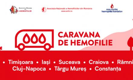 Caravana de Hemofilie ajunge la începutul lunii noiembrie la Suceava și la Iași