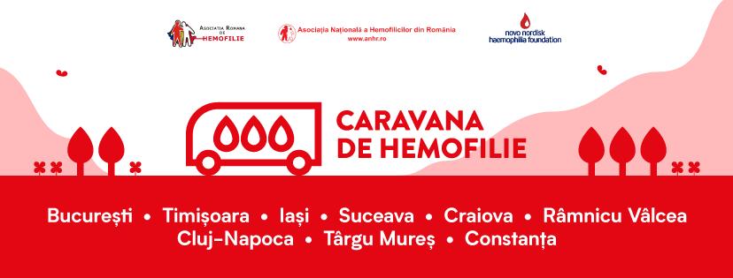 Caravana de Hemofilie a ajuns la Cluj și la Târgu Mureș pentru a consolida comunitatea hemofilicilor
