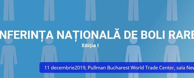 Prima ediție a Conferinței Naționale de Boli Rare: 11 decembrie, București