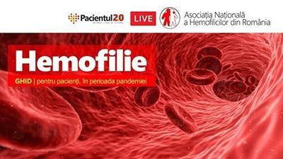 Eveniment online: Ghidul pacientului cu hemofilie pe perioada pandemiei Covid-19
