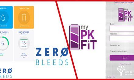 Aplicațiile mobile Zero Bleeds și My PK Fit, soluții pentru monitorizarea pacienților hemofilici de la distanță
