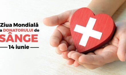 14 Iunie- Ziua Mondială a Donatorului de Sânge: la fiecare 3 secunde, o persoană are nevoie urgent de sânge, la nivel mondial