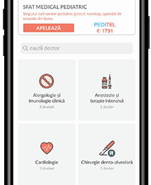 Platforma DOXTAR facilitează accesul gratuit al pacienților la sfat medical pediatric