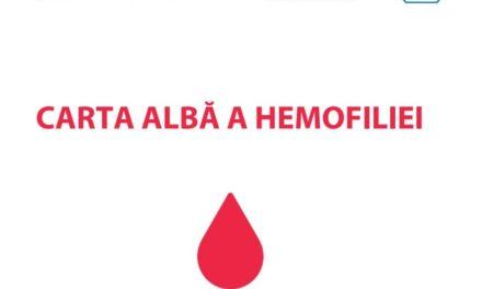 """A fost lansată """"Carta Albă a Hemofiliei"""", cu recomandări pentru îmbunătăţirea vieţii pacientului hemofilic din România"""
