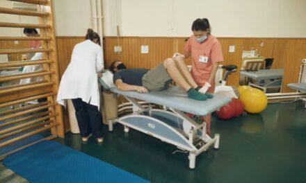 Video educațional: Kinetoterapia gleznei în artropatia hemofilică