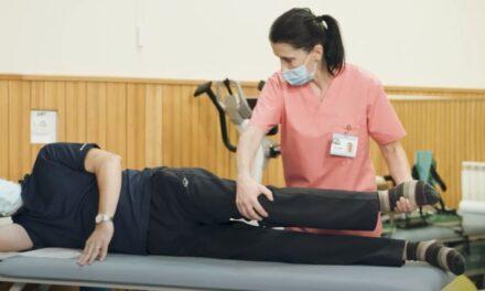 Video educațional: Kinetoterapia soldului protezat la pacienții cu hemofilie