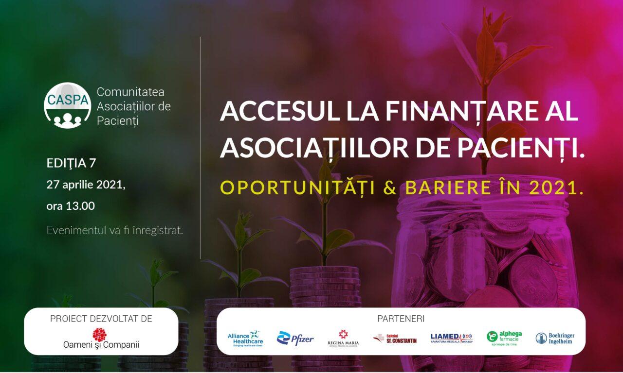 Comunitatea CASPA.RO: 65% dintre ONG-urile active funcționează cu bugete anule mai mici de 10.000 euro