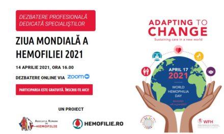Prof. Wolfgang Schramm, de la Universitatea Ludwig-Maximilians din München, este invitatul special al dezbaterii dedicate hemofiliei din 14 aprilie
