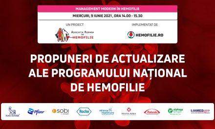 Actualizarea programului național de hemofilie este imperios necesară