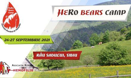 HeRo Bears Camp -Tabăra de aventură și teambuilding dedicată tinerilor cu hemofilie