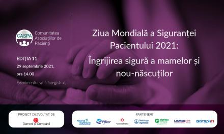 Siguranța mamelor și nou-născuților – tema întâlnirii Comunității Caspa.ro din septembrie